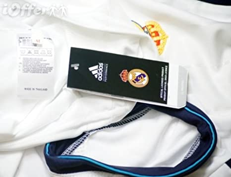Amazon.com : Adidas Real Madrid Home Jersey Long Sleeve 2012-13 Size Medium W41762 CAMISETA REAL MADRID H JSY ADIDAS W41762 : Soccer Equipment : Sports & ...