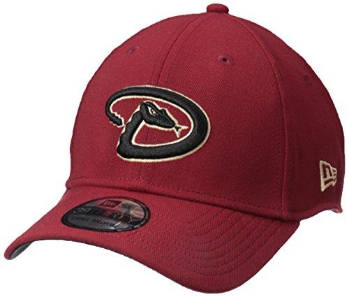 New Era MLB Arizona Diamondbacks Team Classic Game 39Thirty Stretch Fit Cap, Black, Medium/Large