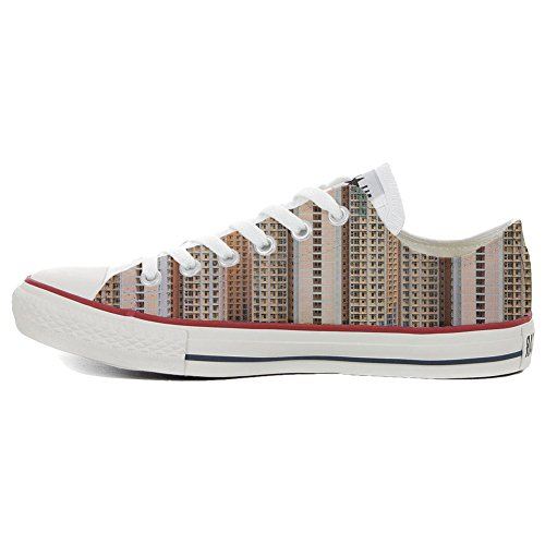 Converse All Star zapatos personalizados Unisex (Producto HANDMADE) Architecture Of Density