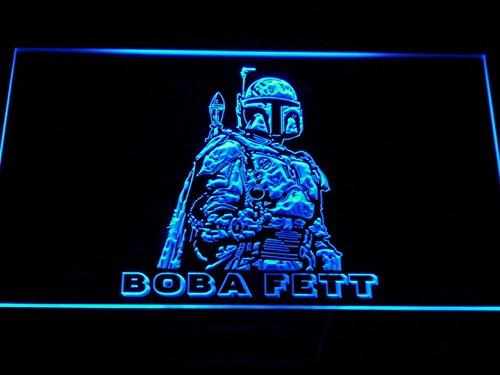 Price comparison product image Boba Fett Star Wars Rare LED Neon Light Sign Man Cave G097-B