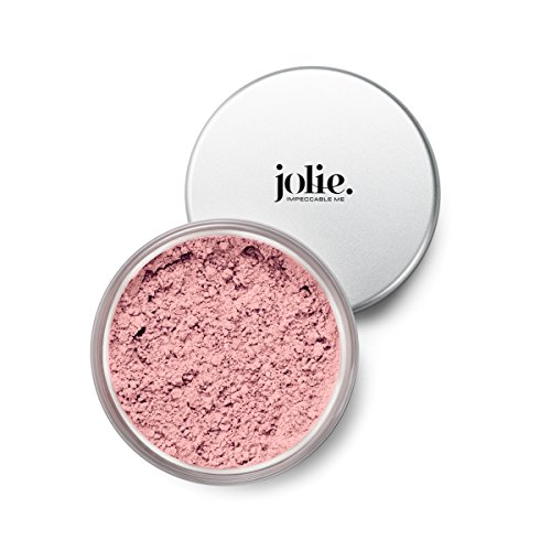 Jolie Loose Mineral Blush - 100% Pure, Unscented, Hypoallergenic, Oil-Free, Talc & Paraben-Free (Pink Quartz)