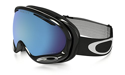 Oakley A-Frame 2.0 Snow Goggles Jet Black with Prizm Sapphire Iridium - A 2.0 Prizm Frame Goggles Oakley