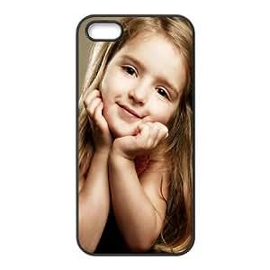 Cute Girl iPhone 4 4s Cell Phone Case Black Zguta