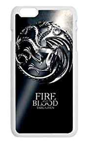 BUTUKU Game of Thrones custom Apple Iphone 6 Case Cover Hard Protective Plastic Fitted Case 4.7 inch