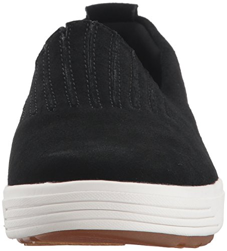 Skechers Women's Comfort Europa-Gored Slip Skech-Air Midsole and Classic Fit Sneaker, Black, 7 M US