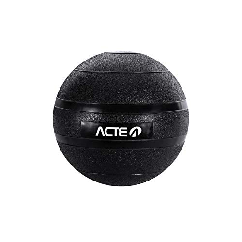 Acte T112 Slam Ball , Adulto Unissex, 9Kg, Preto