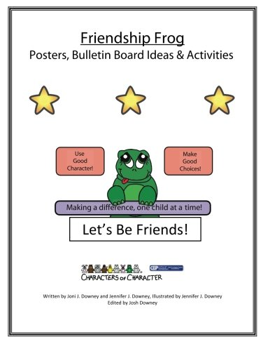 Friendship Frog Posters and Bulletin Board Ideas Activites ()