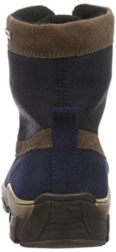 Richter Kinderschuhe Kite, Jungen Kurzschaft Stiefel Blau (atlantic/chestnut  7201)