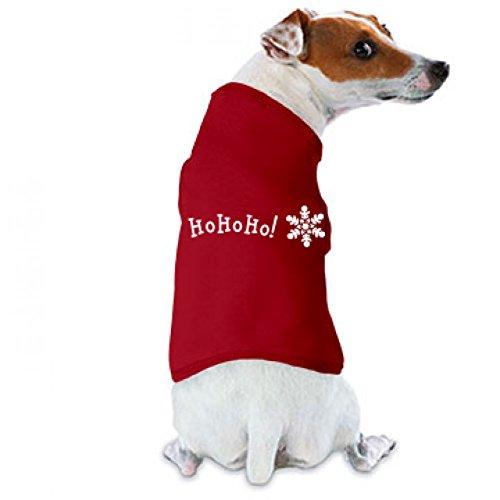 Ho Ho Ho! Dog Tee: Doggie Skins Dog Tank Top (Ho Outfits)