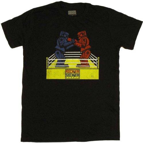 Rock 'Em Sock 'Em Robots - Robot Scrap Soft T-Shirt (Online Em Rock Robots Sockem)