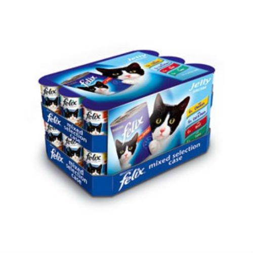 Felix - Recipiente para comida de gato (24 x 400 g): Amazon.es: Productos para mascotas