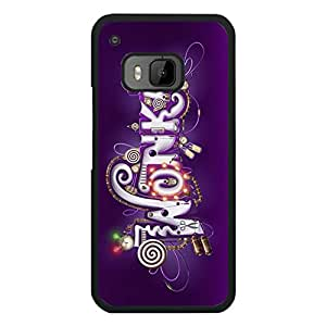 Classic Theme TPU/PC Htc One M9 Back Cover Willy Wonka mobile phone case with TV Style