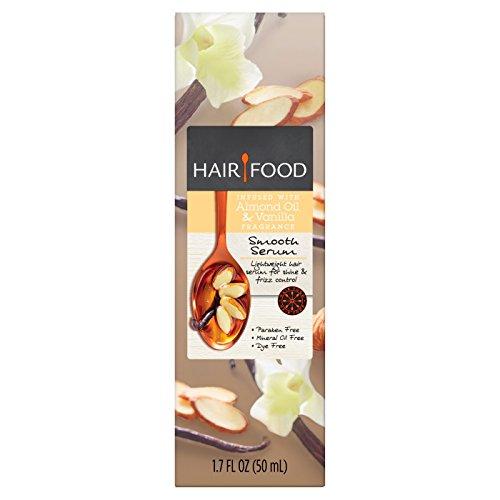 Oil Hair Food - Hair Food Almond Oil & Vanilla Smooth Serum 1.7 fl oz, pack of 1