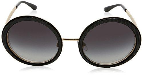 Dolce-Gabbana-Womens-Grosgrain-Round-Sunglasses