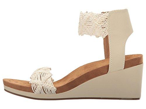 Lucky Women's LK-KIERLO Wedge Sandal Linen,9.5