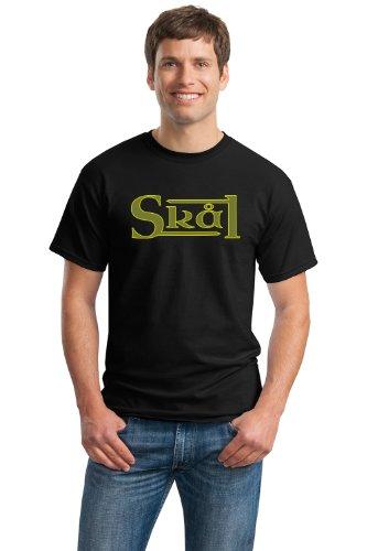SKAL Unisex T-shirt / Scandinavian Beer Drinking Cheers Tee