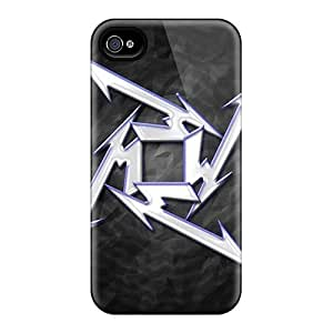 Bumper Hard Phone Cover For Iphone 6plus With Allow Personal Design Fashion Metallica Skin KimberleyBoyes