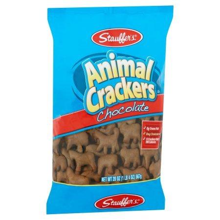Stauffer's Animal Crackers Chocolate, 20.0 OZ per Pack (3 Pack)