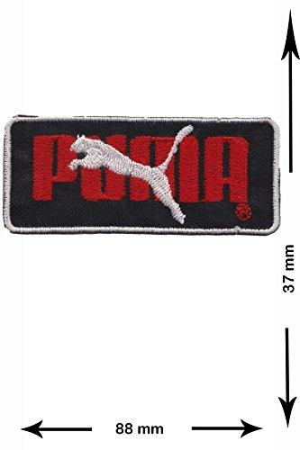 puma logo aufnäher