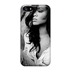 JohnPrimeauMaurice Iphone 5/5s Scratch Protection Mobile Case Allow Personal Design Beautiful Rihanna Series [VYG18966rlnt]