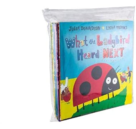 What the Ladybird Heard and Other Stories x 8 Zip Lock Bag: Amazon.es: Libros en idiomas extranjeros