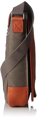 BREE Punch Casual 52, Anthra/black, Shou. Bag - Borse a spalla Unisex Adulto, Grau (Anthra.), 6.5x26x21 cm (B x H T) Grigio (Grey)