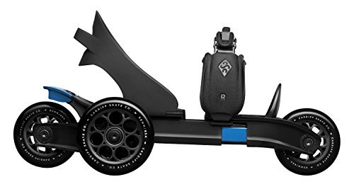 Cardiff Sport Technologies S2-002 Skates Black / Blue Size 1 - 7.5 by Cardiff Sport