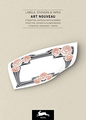 Art Nouveau Label & Sticker Book (Label & Sticker Books) (English and German Edition)