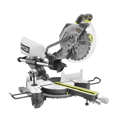 Ryobi ZRTSS120L 15 Amp 12 in. Sliding Miter Saw with Laser Renewed