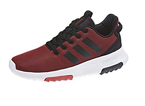 adidas Unisex-Kinder CF Racer TR K Fitnessschuhe, Grau Rot (Escarl / Negbas / Ftwbla)