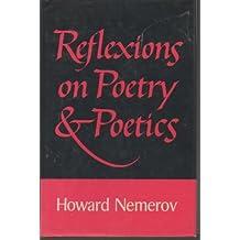 Reflexions on poetry & poetics