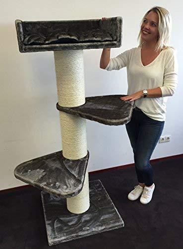 Rascador grandes gato XXL Royalty taupe gris Sisal troncos de 20 - cmØ para gatos Árbol para grandes y pesados, gatos. De rhrquality: Amazon.es: Productos ...