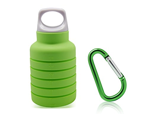 250-500ml Reusable Water Cup Foldable Drink Bottle Travel Portable Water Pouch