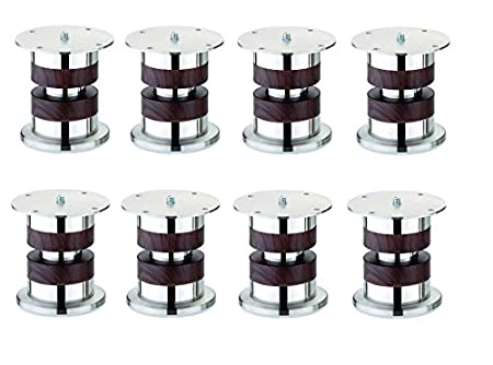A & Y Traders Unique Design Strong Stainless Steel Sofa Legs Pack of