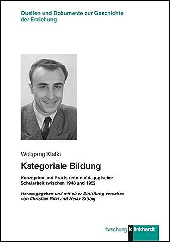 dissertation wolfgang klafki