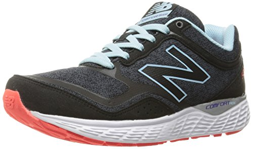 New Balance Women's 520v3 Running Shoe, Black/Thunder, 8.5 B US