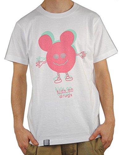 Wemoto Herren T-Shirt Drugs - White