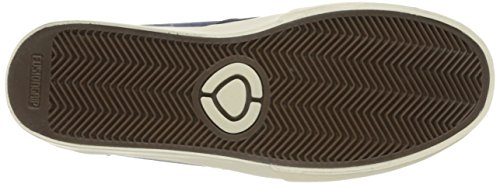 C1rca Mens Hesh 2.0 Durable Semelle Légère Skate Skateboard Chaussures Robe Blues / Off Blanc