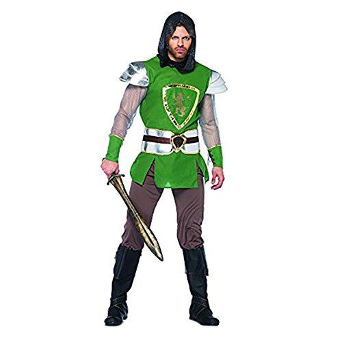 British Queen's Guard Costume (Leg Avenue Men's 4 Piece Queens Guard Costume, Green, Medium/Large)