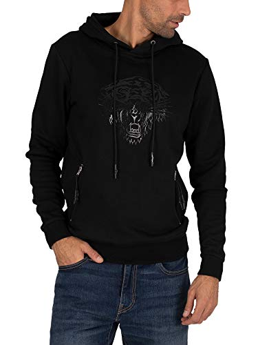 Ed Hardy Men's Matt Tiger Pullover Hoodie, Black, S Ed Hardy New Tiger