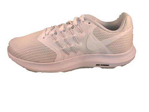 NIKE Women's Run Swift Running Shoe, White/White-Pure Platinum, Size 6.5 M US