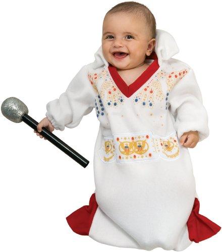 Elvis Bunting Costumes (Elvis Bunting Baby Infant Costume - Newborn)