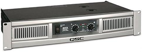 B0018D63KO QSC GX3 300-Watt Power Amplifier 41K3pkApF7L