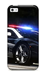 New Style 7595657K27904150 High Quality Shock Absorbing Case For Iphone 5c-nfs Hot Pursuit Cop Car