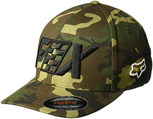 Fox Men's CZAR Flexfit HAT, camo, L/XL