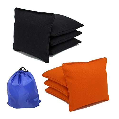 Free Donkey Sports 8 All-Weather Cornhole Bags - Choose from 25 Colors- Plastic Pellets Filled