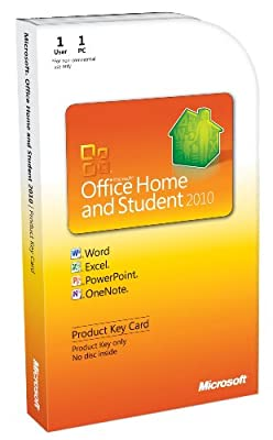 Microsoft Office Home & Student 2010 Key Card (1PC/1User)