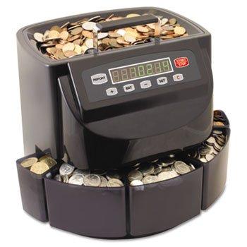 DMi EA Coin Counter//Sorter Pennies through Dollar Coins 200200C SteelMaster