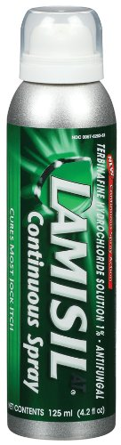 Lamisil Lamisil Jock Itch Spray - Continuous Spray, 4.2-ounce