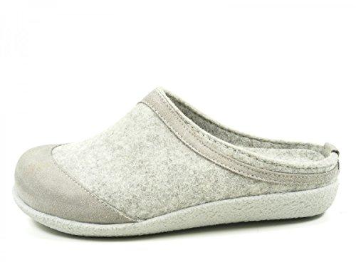 adulti misti per 738018 Grau Saba Blizzard Haflinger Pantofole q77T6